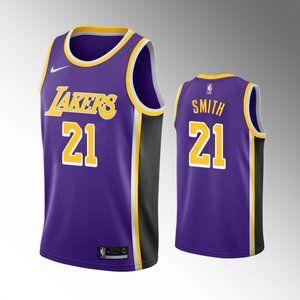 Los Angeles Lakers J.R.Smith Purple Jersey